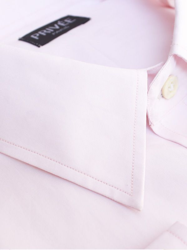 Pink 140s/2Ply Cotton Shirt