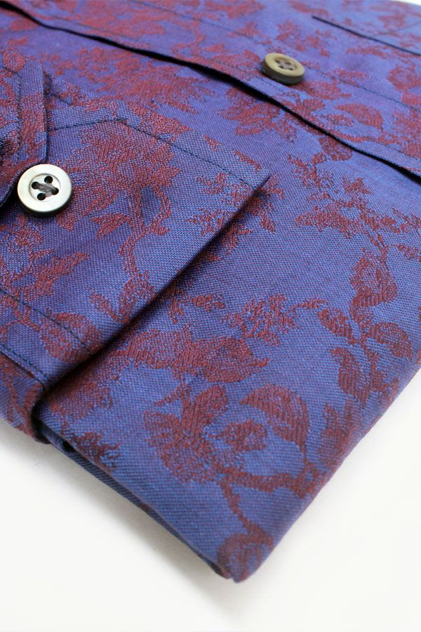 Royal Purple Jacquard (Fancy Shirts) India