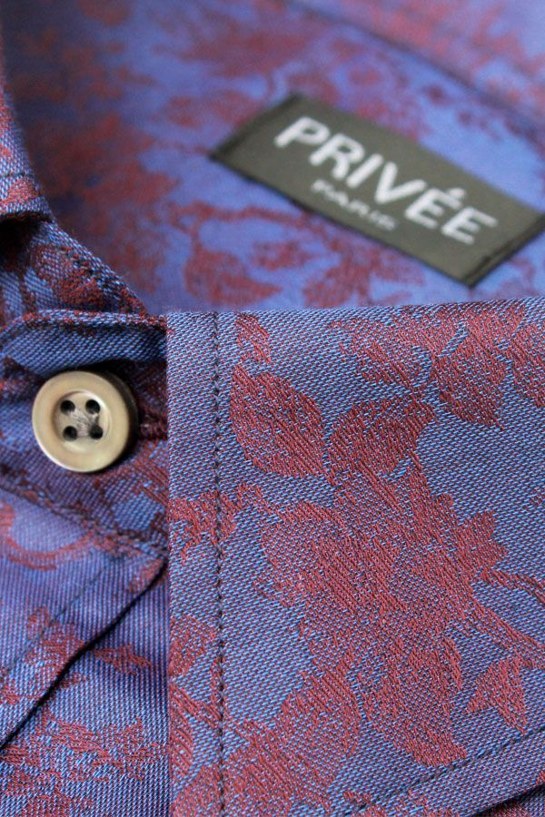 Royal Purple Jacquard (Fancy Shirt)