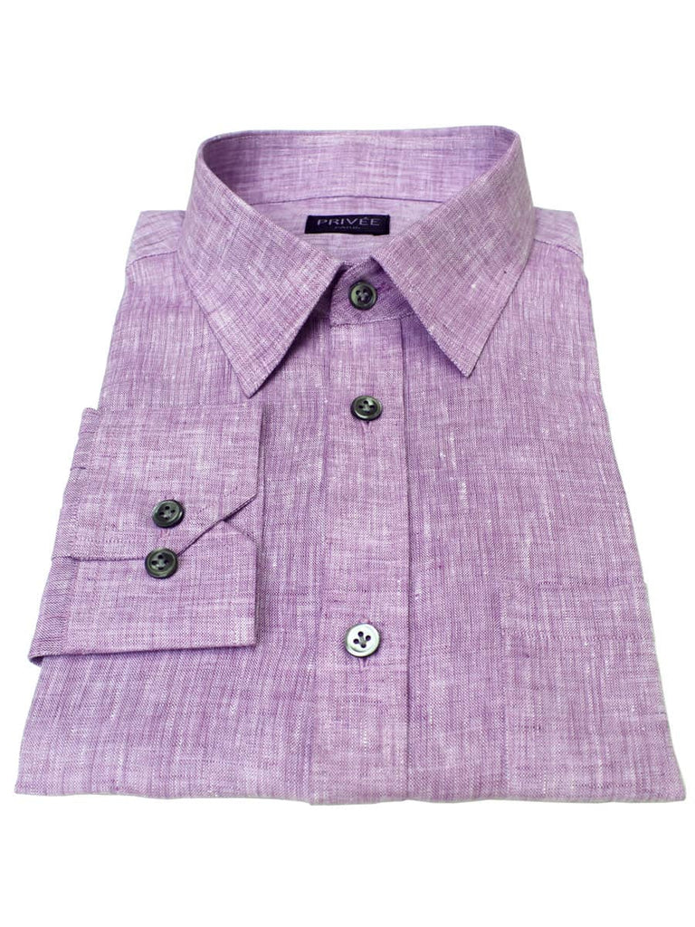 Lavender Linen Shirt India