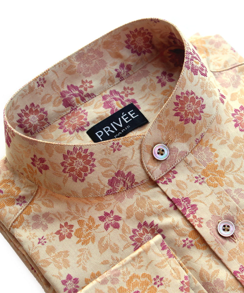 Marigold Luxury Wedding Shirt