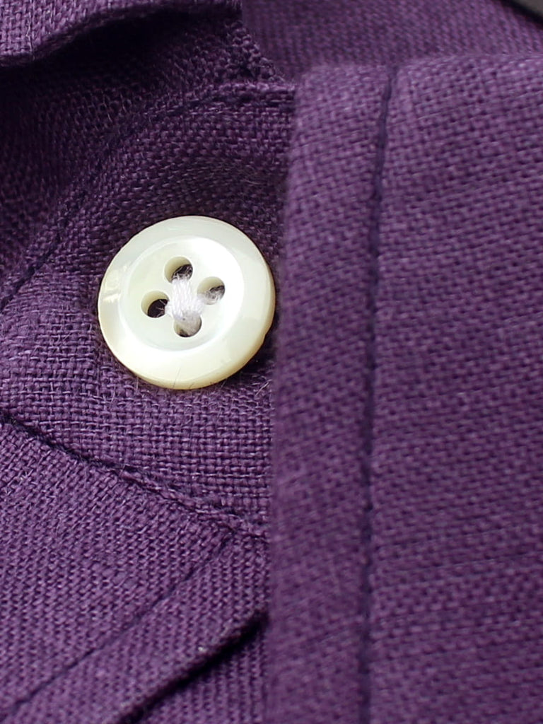 Purple Linen Shirt India
