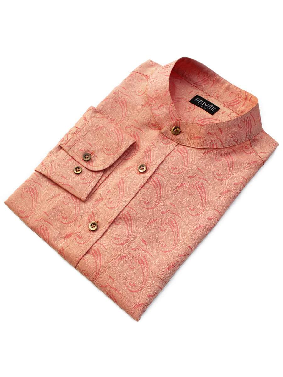 Royal Peach Designer Shirts