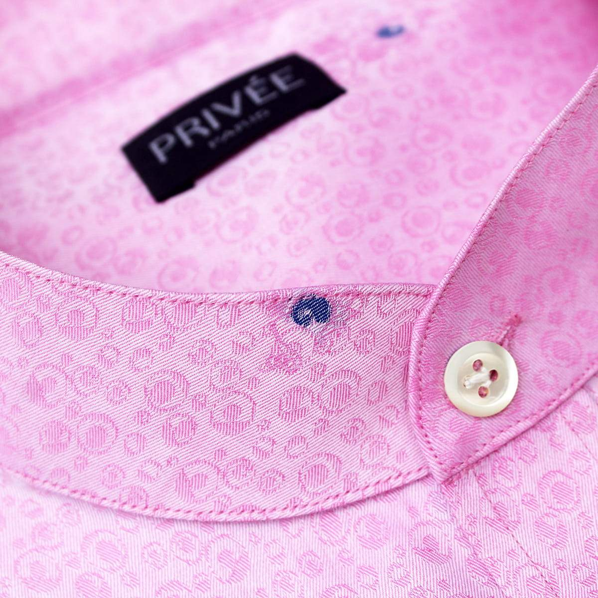 Royal Pink Luxury Wedding Shirt - Privee Paris