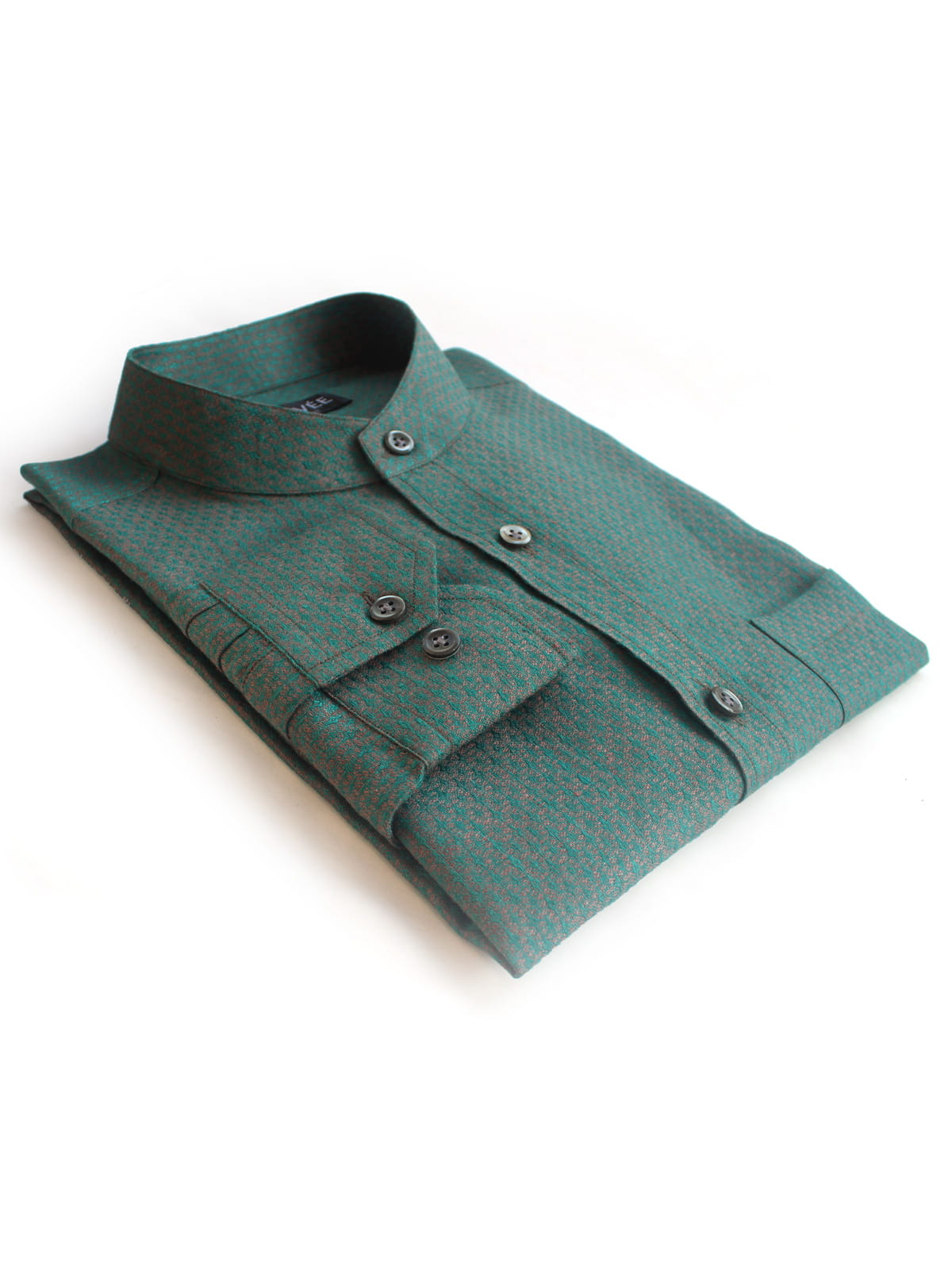 Teal Linen Wedding Shirts India