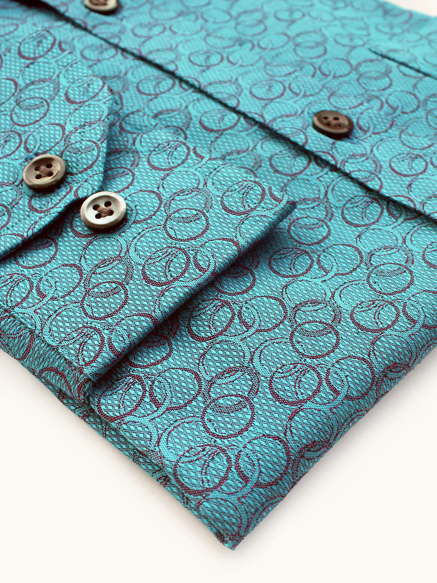 Teal Luxury Shirts India