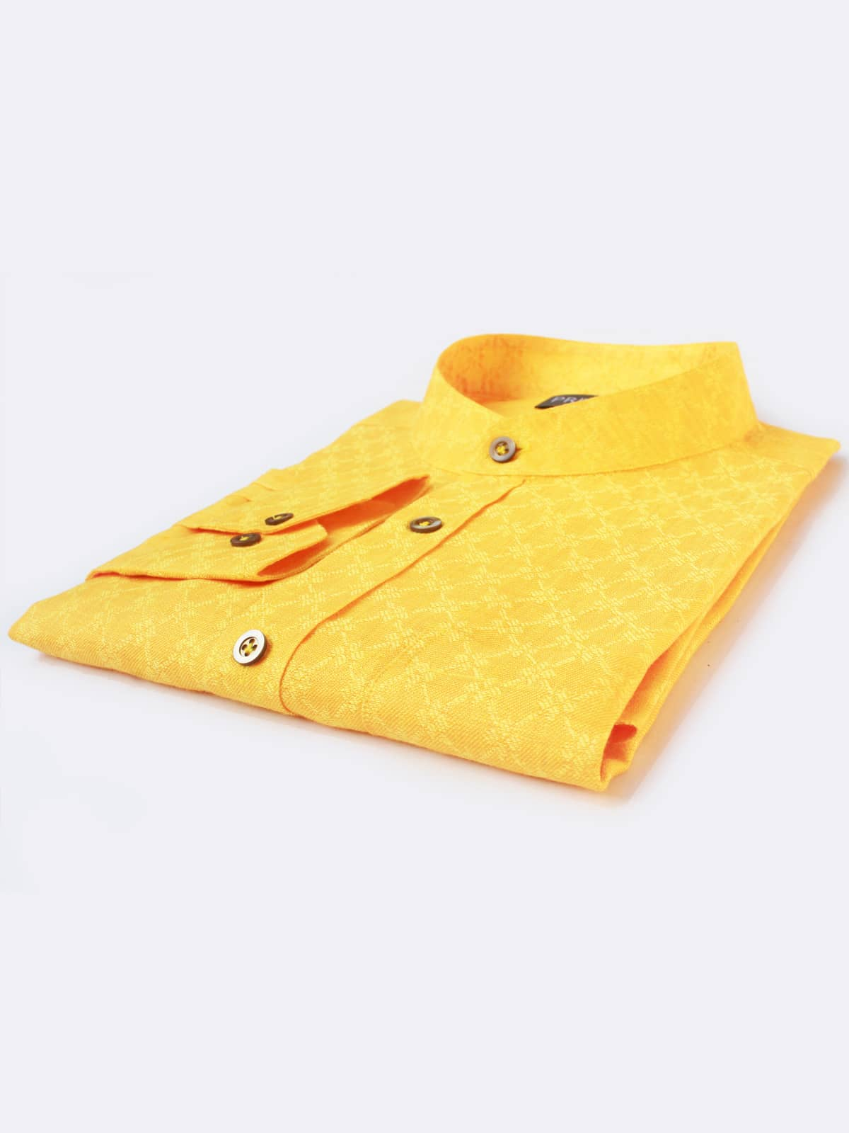 Yellow Linen Wedding Shirt Online