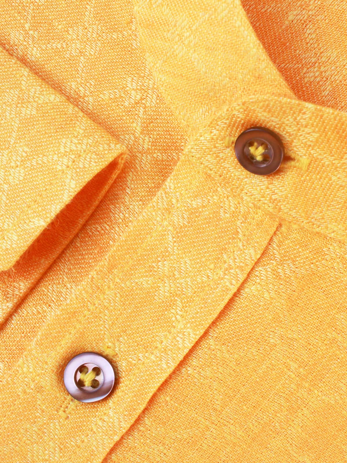 Yellow Linen Wedding Shirts India