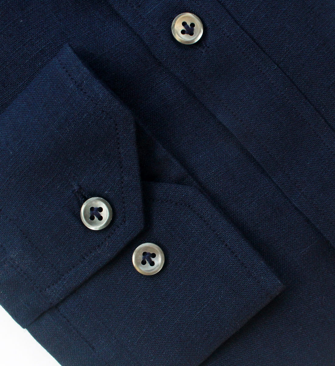 Navy Blue Linen Shirts India