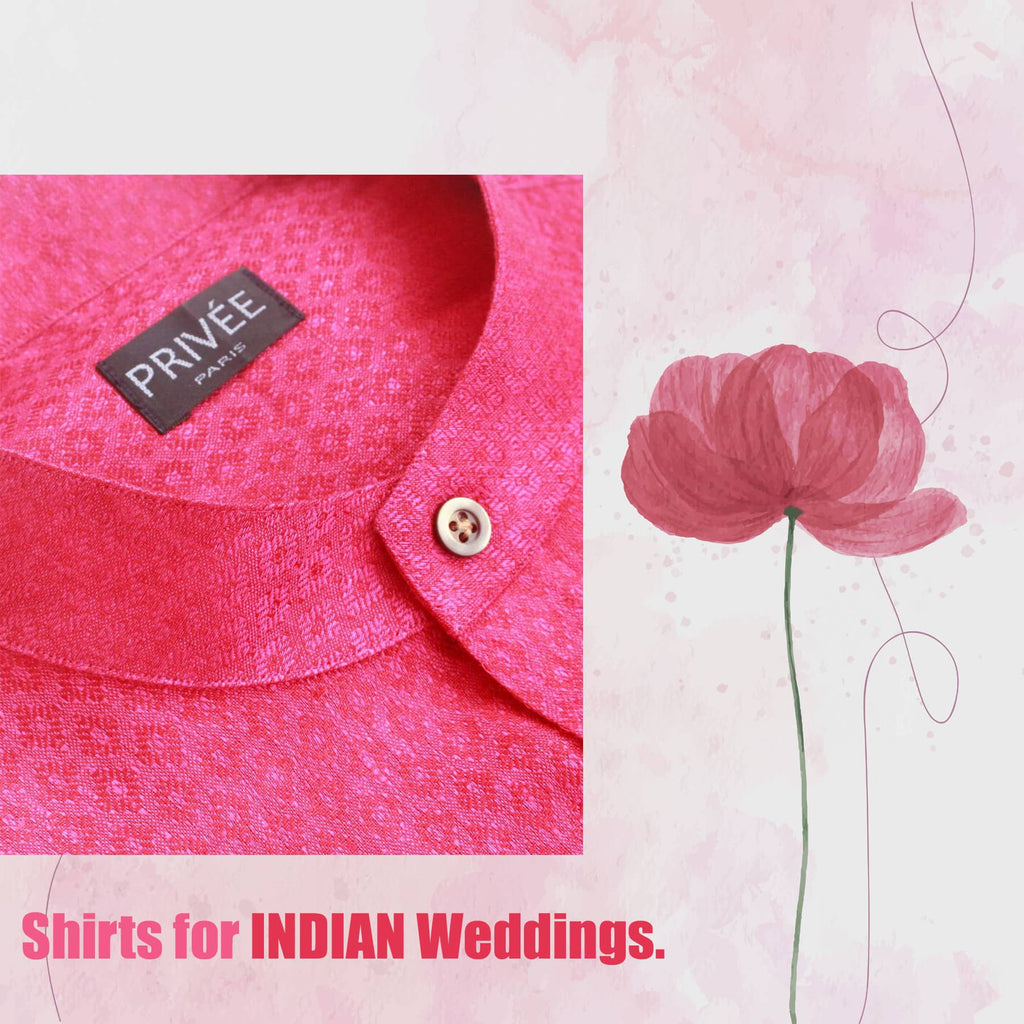 Shirts for Wedding in India