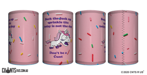 Back The Fuck Up Sprinkle Tits Stubby Holder CRU26-40-50015