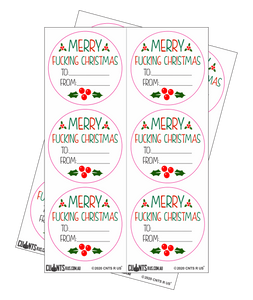 Sticker Pack - Merry Fucking Christmas CRU18-23R-11054