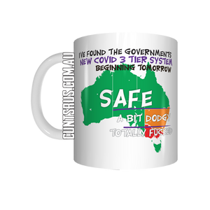 The Governments New 3 Tier Covid Plan Coffee Mug Gift CRU07-92-12118