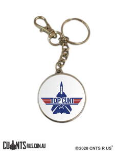 Top Cunt Classic Double Sided Keyring CRU17-32-8198