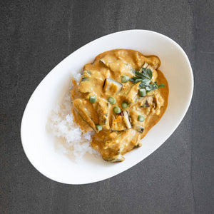Eggplant Korma Curry