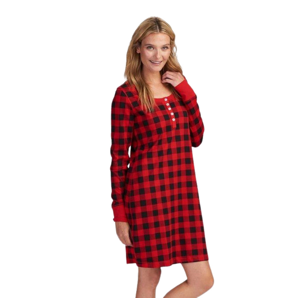 Buffalo Plaid Women's Nightdress