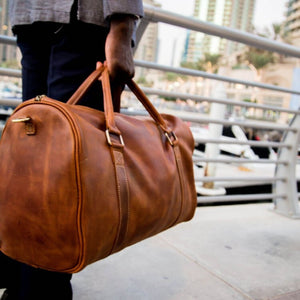 Leather ADDIS Duffle Bag