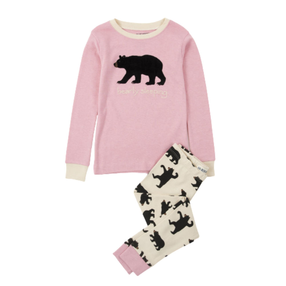 Bearly Sleeping Kid's Pajama Set