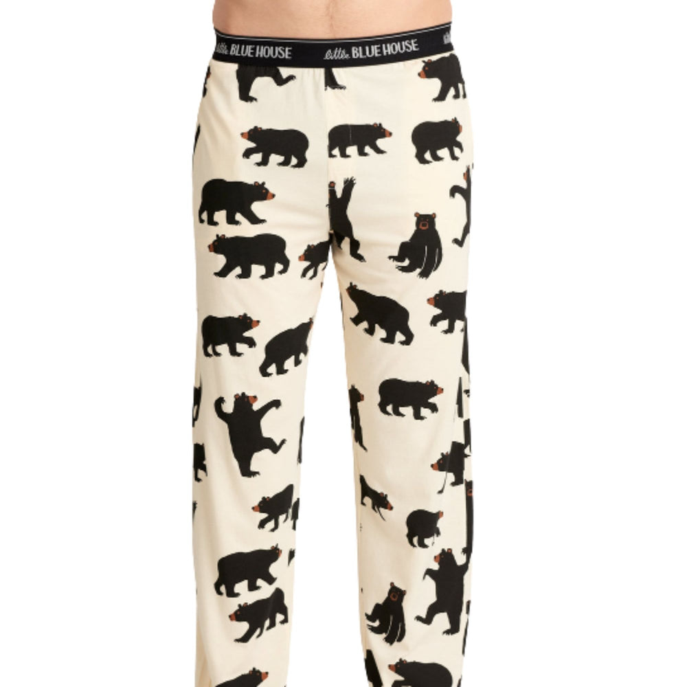 Black Bear Men's Jersey Pajama Pants