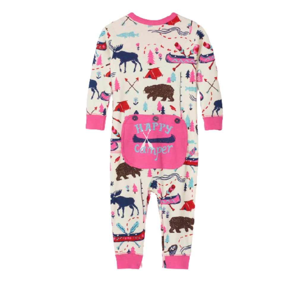 Pretty Sketch Country Baby Union Suit