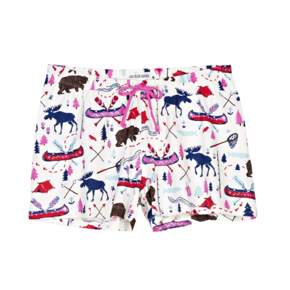 Pretty Sketch County Women's Sleep Shorts