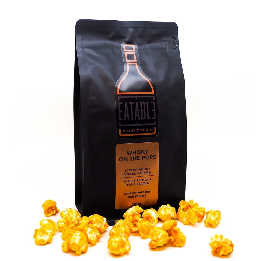 Alcohol-Infused Gourmet Popcorn