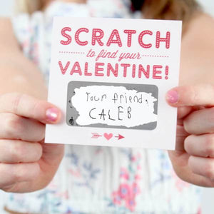Scratch-Off Valentines - Box of 18