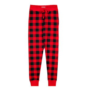 Buffalo Plaid Women's Sleep Leggings