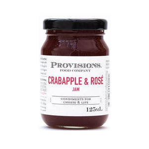 Crabapple and Rose Wine Jam