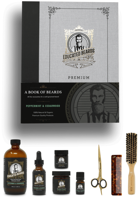 Book of Beards - Complete Grooming Kit