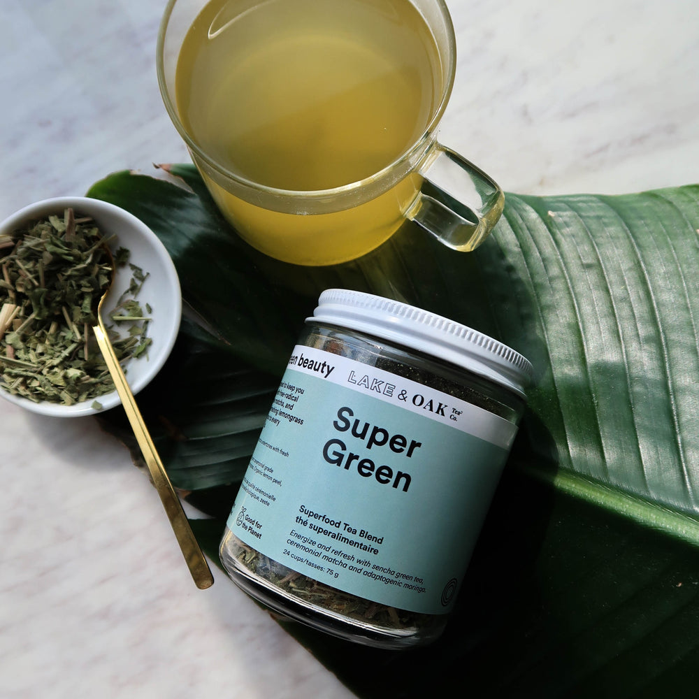 Super Green Superfood Tea Blend