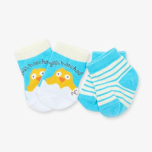 Just Hatched 2-Pack Baby Sock
