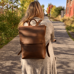 The Camino Leather Backpack