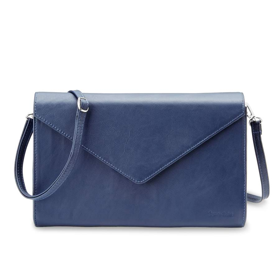 The Heather Leather Airline Clutch