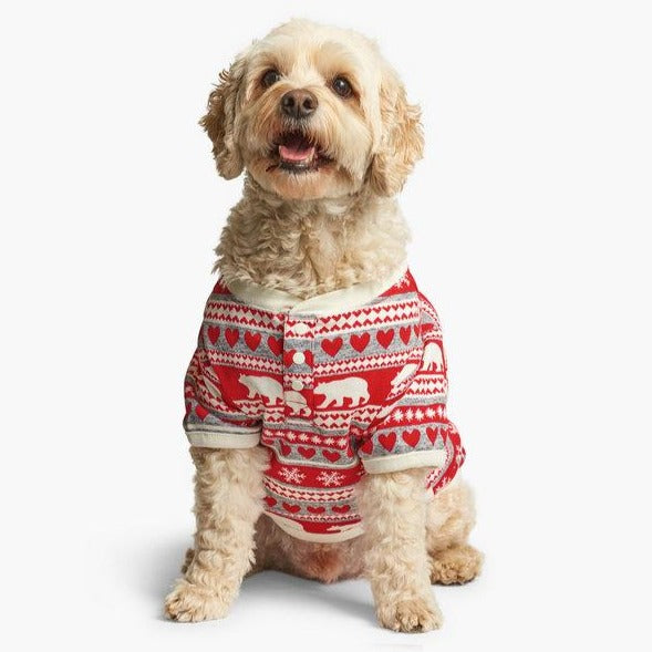 Fair Isle Bear - Dog Pajamas