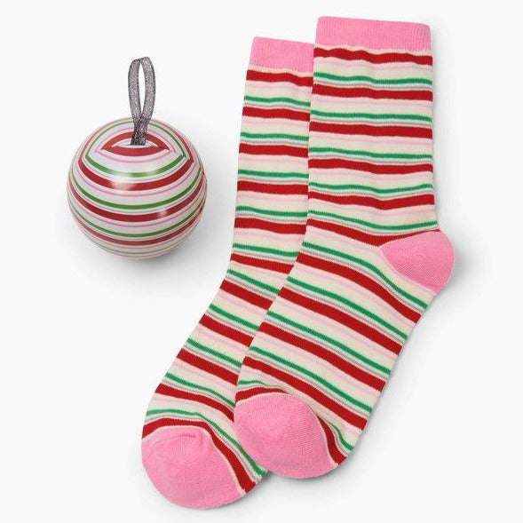 Candy Cane Stripe - Women's Socks