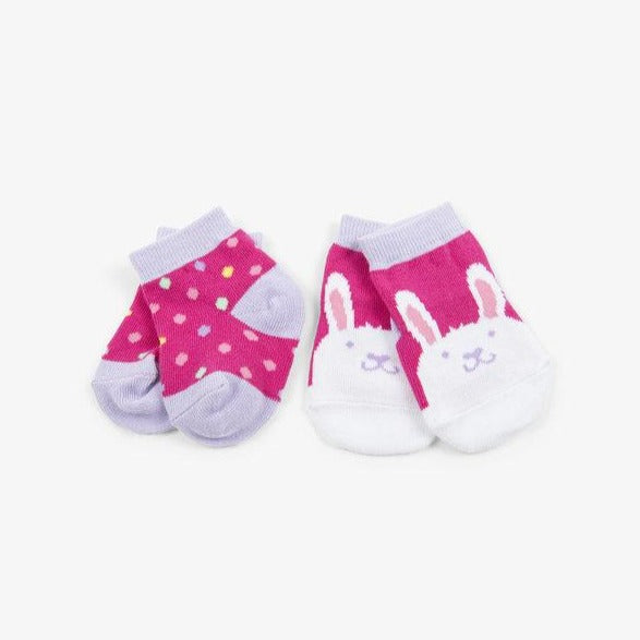 Load image into Gallery viewer, Funny Bunny 2-Pack Baby Sock