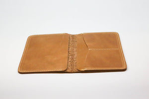 Leather GUZO Passport Wallet