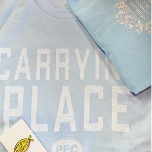 Youth - The Carrying Place Unisex T - Light Blue