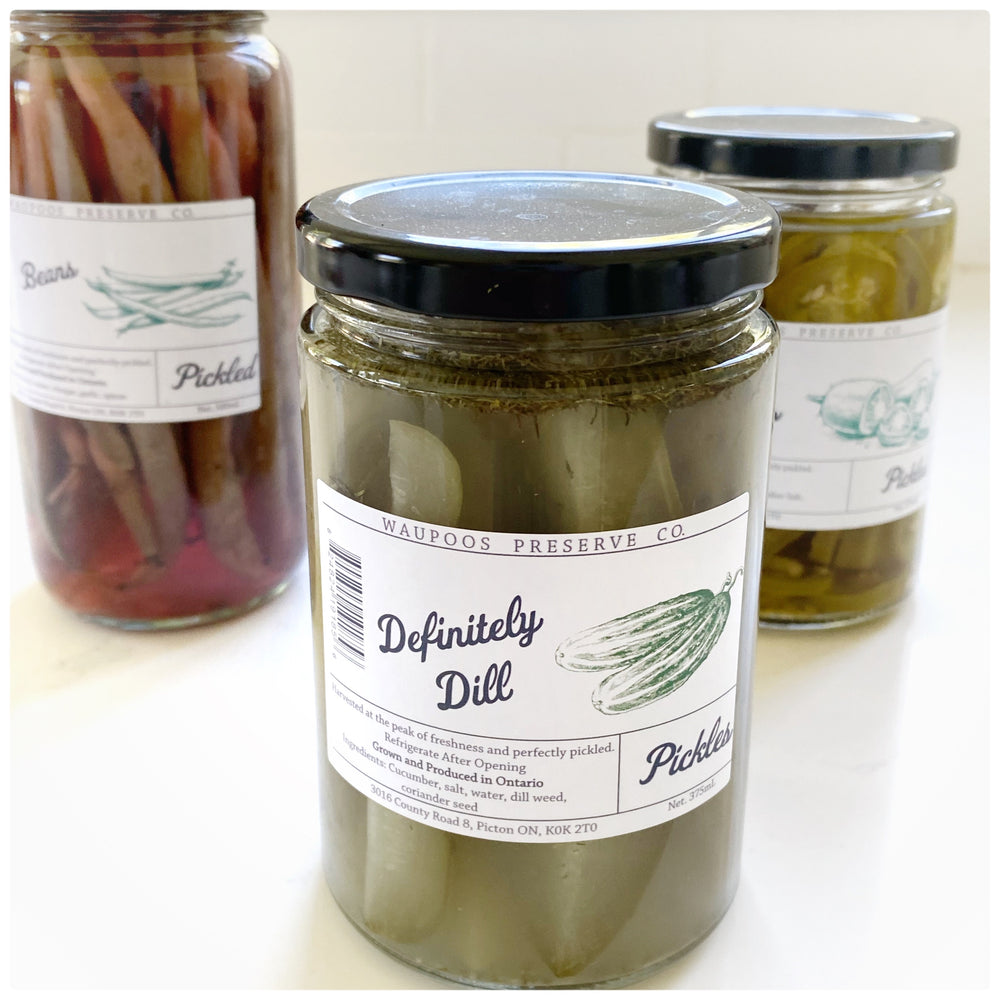 Definitely Dill Pickles