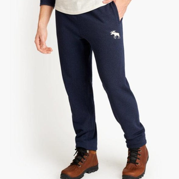 Load image into Gallery viewer, Blue Melange Moose Men's Heritage Joggers