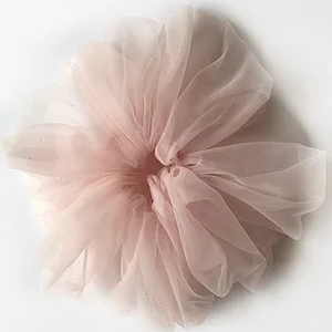 Cloud Tulle Scrunchies