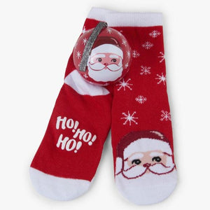Load image into Gallery viewer, Santa Claus - Kid's Socks in Ball