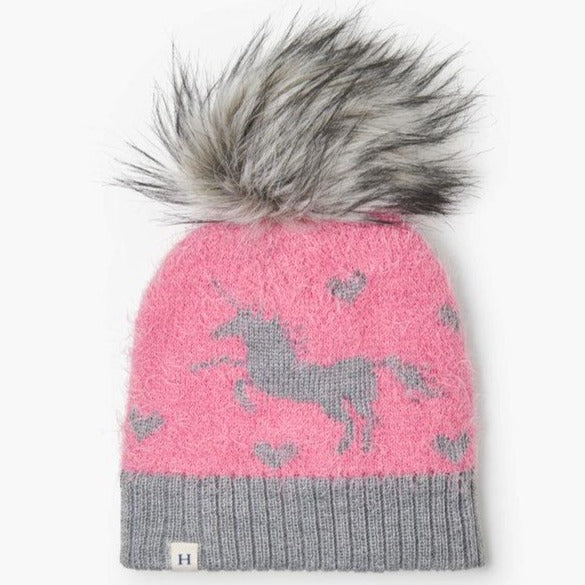 Load image into Gallery viewer, Shimmer Unicorn Winter Hat