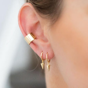 Thick Ear Cuff - Earrings