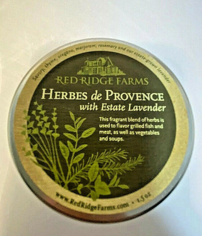 Herbes de Provence with Estate Oregon Lavender herbs blend J11