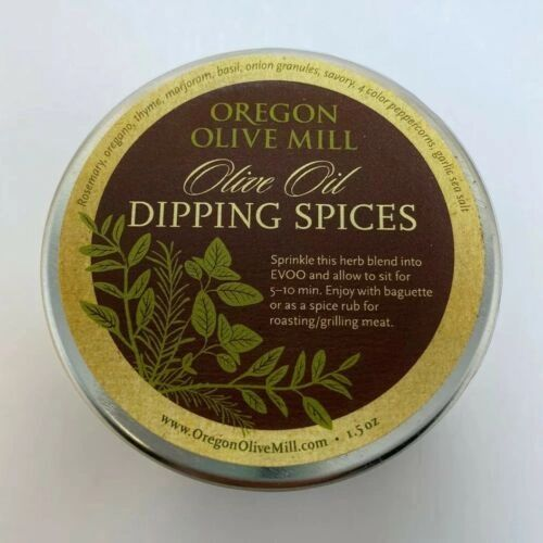 Olive Oil Dipping Spices by Oregon Olive mill herbs blend J10