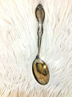 WM Rogers and Sons Vintage Medium Serving Ladel Gravy Spoon Silverplate I35