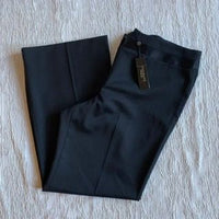 Talbots black dress slacks pants NWT SZ 16P $129 retail L3