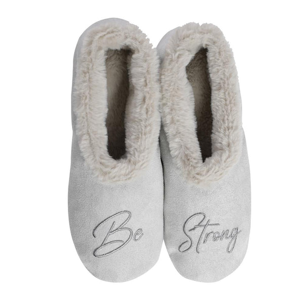 Be Strong Footsie Grey